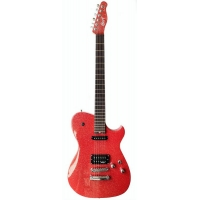 Cort MBC1 Matt Bellamy (Muse) Signature Electric Guitar, Red Sparkle
