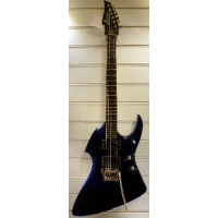Maverick X1 Electric Guitar in Black with Floyd Rose, Secondhand