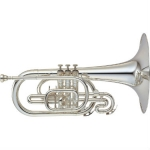 Yamaha 204MS F Marching Mellophone with Case & Mouthpiece