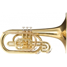 Yamaha Marching Mellophone Horn - 204M F Model with Case & Mouthpiece