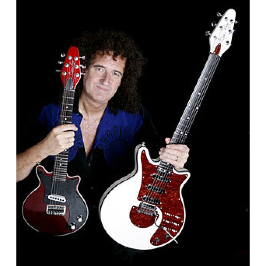 Brian May Mini May Guitar In Antique Cherry Brian May