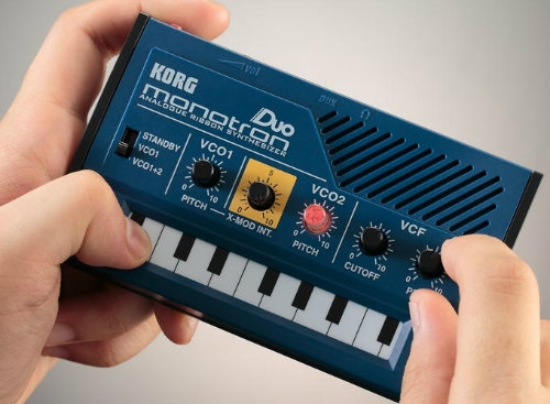 Korg Monotron Duo - Pocket Size Analog Synth with X Mod Capabilities