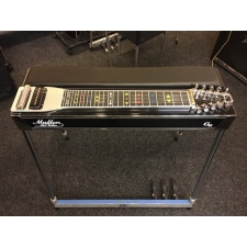 Mullen G2 Pedal Steel with Pad in Black & Hard Case