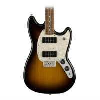 Fender Mexican Mustang 90 Electric Guitar With P90's In 2 Tone Sunburst