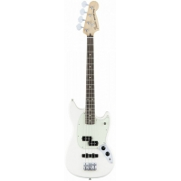 Fender Mustang Bass PJ, Olympic White