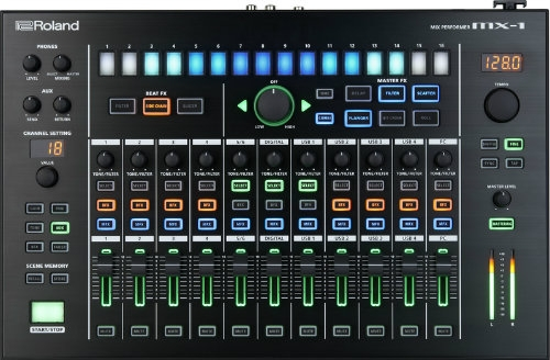 Roland Aira MX1 Mix Performer - Elements of a Mixer, Surface & Interface
