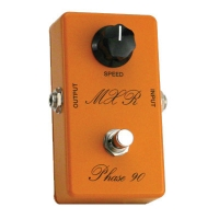 MXR Custom Phase 90 74 Vintage Reissue
