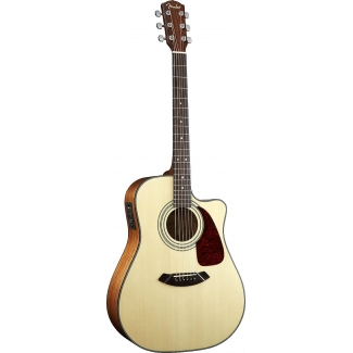 Fender CD140SCE, Dreadnought Cutaway, Natural
