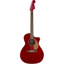 Fender Newporter Player Electro Acoustic Guitar in Candy Apple Red
