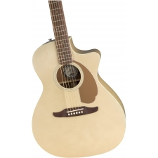 Fender Newporter Player Electro Acoustic Guitar, Champagne
