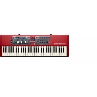 Nord Electro 6D 61 - 61-note Semi-Weighted Waterfall keybed