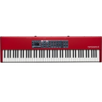 Nord Piano 4 - 88 Note Weighted Piano Action in Red