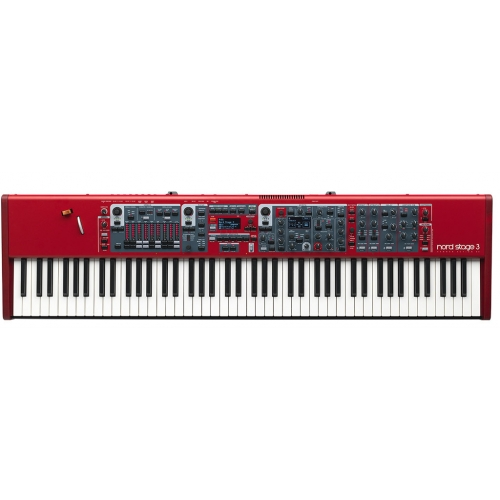 Nord Stage 3 88 Synthesizer with stand ex and music stand v2