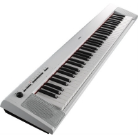 Yamaha NP32 76 Note Graded Soft Touch Digital Keyboard, White