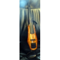 NS Design WAV 5-String Electric Violin/Viola in Amber Burst, Trans Red or Black