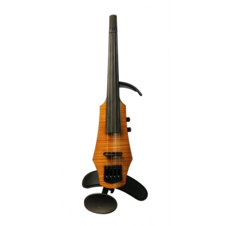 NS Design WAV 4 String Electric Violin in Amber