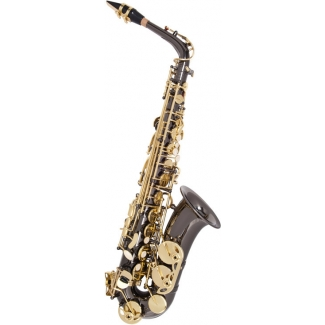 Odyssey OAS700 Premiere Eb Alto Saxophone With Mouthpiece & Case In Black