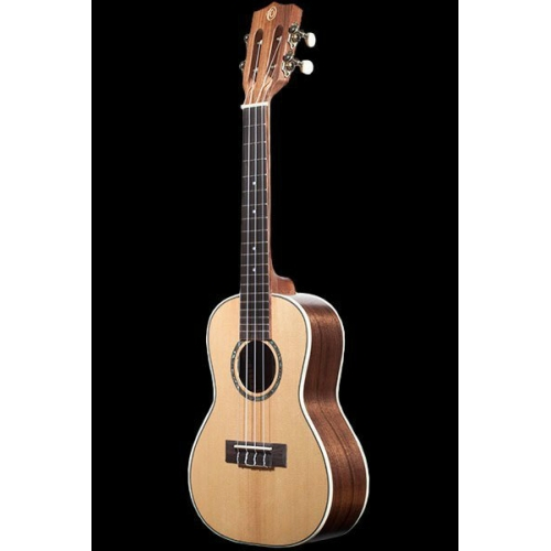 Ohana CK70W Solid Spruce And Walnut Concert Ukulele
