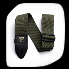 Ernie Ball PolyPro Guitar Strap Olive