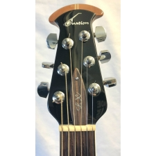 Ovation 6778LX Standard Elite Electro Acoustic Guitar in Black, Pre Owned