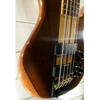 Overwater Progress Deluxe UK Made 5 String Bass, Imbuia (Secondhand)