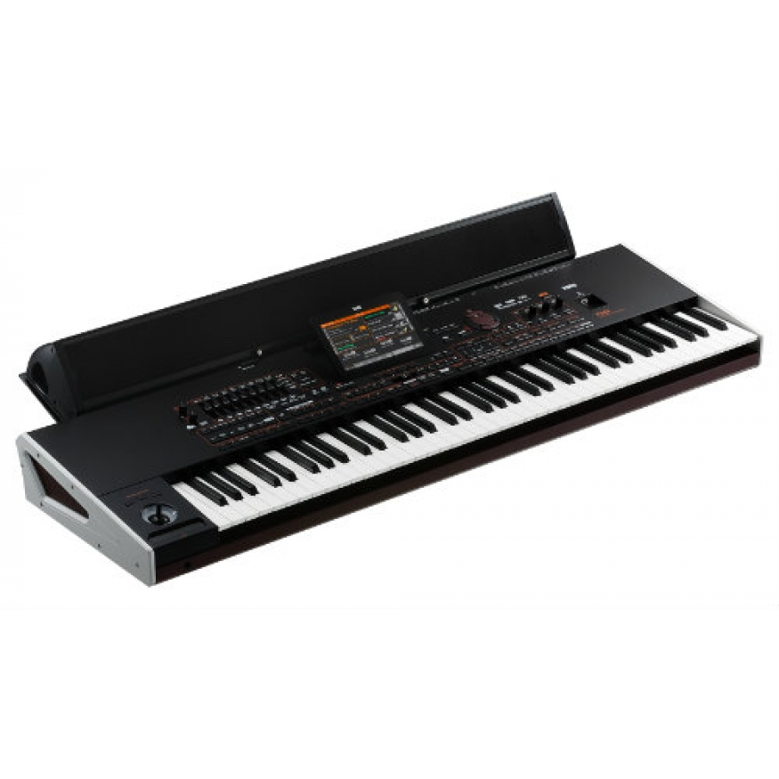 Korg pa4x 76p keyboard with korg paas speakers and yamaha for Korg or yamaha digital piano