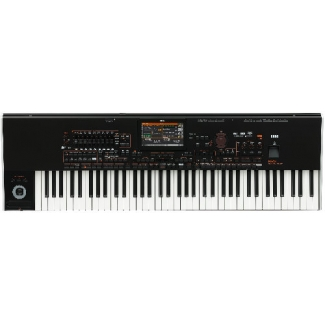 Korg PA4X-76P Keyboard With Korg PAAS Speaker System & Yamaha L7S Stand