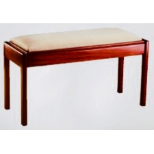 Piano Accessories Duet Piano Stool with Fixed Leg & Box