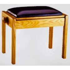 Piano Accessories Single Adjustable Piano Stool With Fixed Leg
