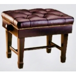 Piano Accessories Large Single Concert Piano Stool With Fixed Leg & Spade Toe