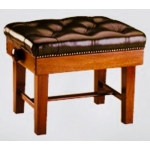 Piano Accessories Large Single Concert Piano Stool With Fixed Taper Leg