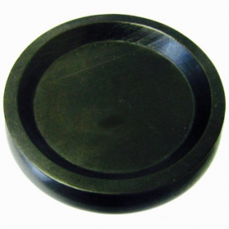 Piano Accessories - Black Wood Castor Cup, 45mm Diameter (PA347)