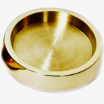 Piano Accessories - Brass Castor Cup, 40mm Diameter (PA310)