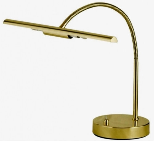 Piano Accessories - Brass Piano Lamp (PAN800ABR)