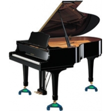 Piano Accessories - Set of 3 Grand Piano Dollies with 12.5mm Opening (PAG820)