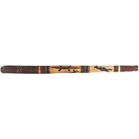 Atlas Wood Didgeridoo, Painted (GR2732)