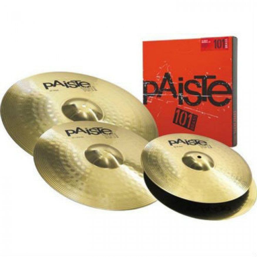 paiste 101 brass universal cymbal set at promenade music. Black Bedroom Furniture Sets. Home Design Ideas