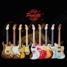 UK Information Page for Paoletti Handmade Guitars from Tuscany in Italy
