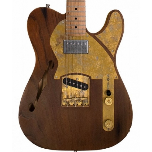 Paoletti Nancy Lounge Series HS Electric Guitar in Natural with Hardcase