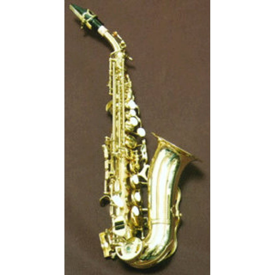 how to hold a soprano saxophone