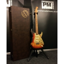 Paoletti Stratospheric Loft Series SSS Guitar in 3 Tone Pickled Finish with Hardcase