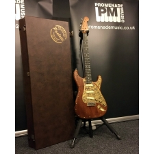 Paoletti Stratospheric Wine Series SSS Electric Guitar in Natural with HardCase