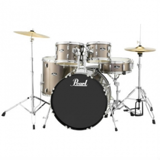 Pearl Roadshow 5 Piece American/Rock Fusion Drum Kit