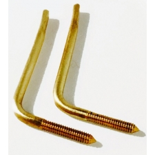 Piano Accessories - Pair of Brass Piano Book Holders (PA710B)