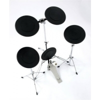 Percussion Plus PP1069 Practice Drum Kit with 5 Pads