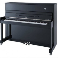 Irmler SP118 Supreme Upright Piano in Polished Black