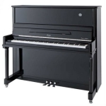 Irmler SP132 Supreme Series Upright Piano in Polished Black
