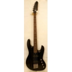 Lodestone Primal Artist 4 String Bass Guitar in Trans Black Maple Flame