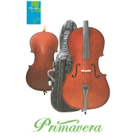 Primavera 100 Cello Outfit With Case & Bow, 4/4 & 3/4 Sizes (CF010)