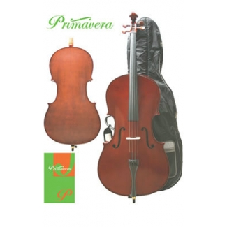 Primavera 100 Cello Outfit With Case & Bow, 1/2,1/4, 1/8 & 1/16 Sizes (CF010)